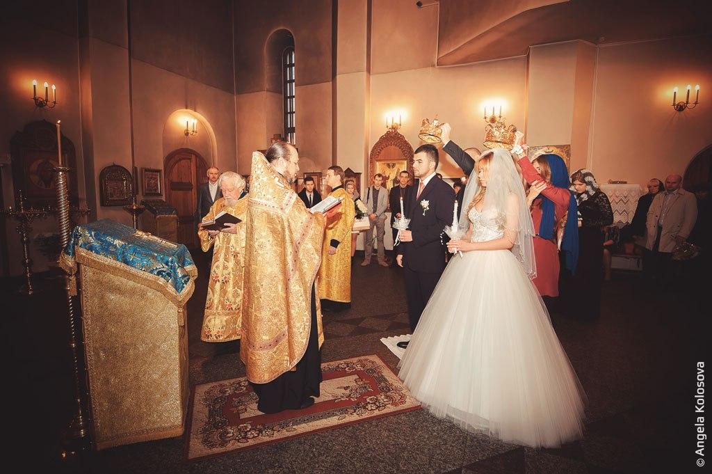 Таинство венчания - красивый обряд в фотографиях