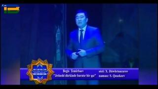 Begis Temirbaev_Jettinshi dúrkinde baratir bir qiz (konsert version)