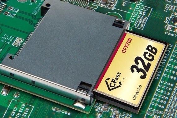 Карты памяти Transcend CFX700 CFast 2.0 предназначены для промышленного применения