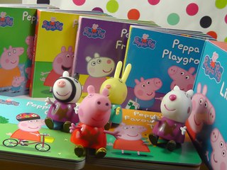 Peppa Pig Stories Little Library books toys