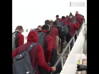 Команда вылетела в Неаполь