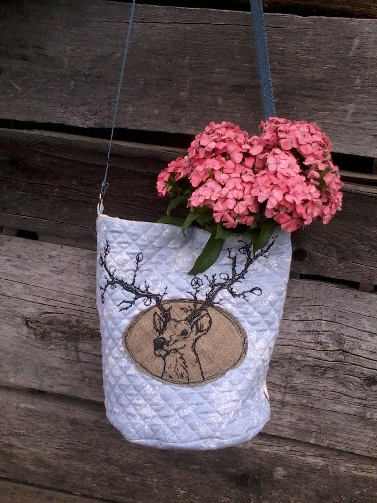 сумка с оленем