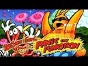 ToeJam Earl in Panic on Funkotron 7 The Funkotronian moon and Mayhem Mountain
