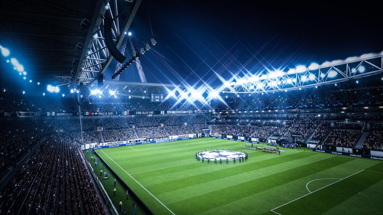Скриншот игры FIFA 19