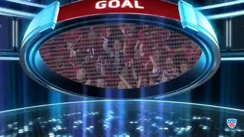 Моменты из матчей КХЛ сезона 14/15 • Гол. 0:1. Левандовский Эдуард (Автомобилист) открывает счет матча в большинстве 01.03