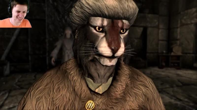 Mr Cat Skyrim Самое нестандартное прохождение Скайрима 17 Алдуин