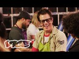 Drinking Tequlia at a Paint and Sip Class with Johnny Knoxville and Chris Pontius