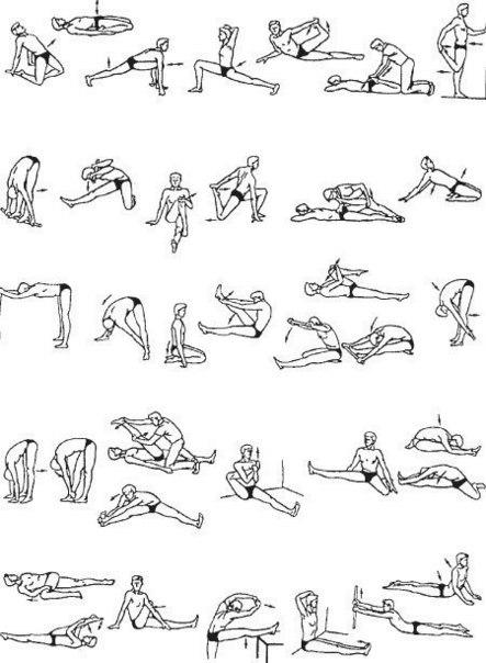 27. Схемы тренировок.