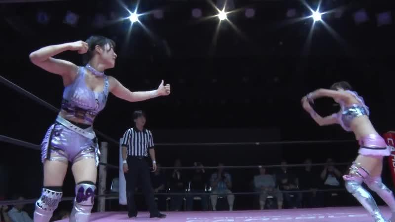 Azusa Takigawa Raku vs. Hinano Miu - TJP How Do You Like Osaka?