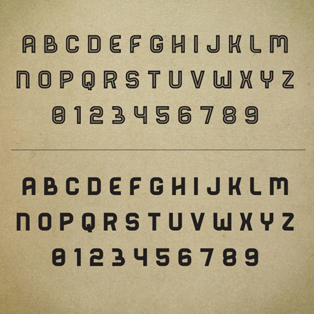 Download Bender Personal License font (typeface)