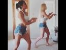 Сексуальный танец Мишель Ултерсон и Холли Холм