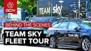 Team Sky Fleet Tour Behind The Scenes At The Giro dItalia