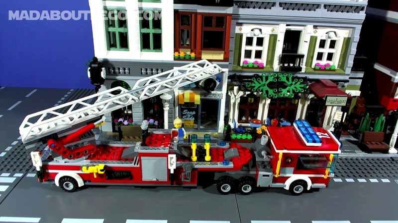 LEGO City Fire Stations Movies