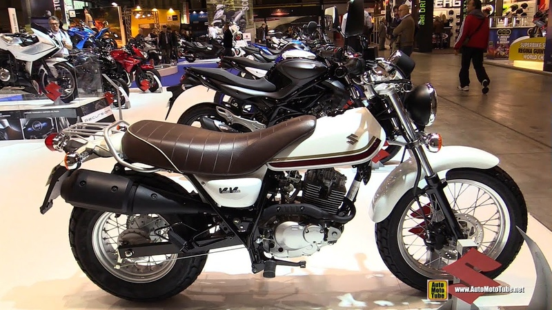2015 Suzuki VanVan RV 125 - Walkaround - 2014 EICMA Milan Motorcycle Exhibition