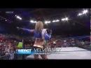 TNA iMPACT 5/9/13 Velvet Sky & Mickie James vs Gail Kim & Tara w/Jesse - Gail Kim Attacks Tara