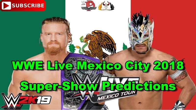 WWE Live Mexico City 2018 205 Live Cruiserweight Title Buddy Murphy vs Kalisto Predictions WWE 2K19