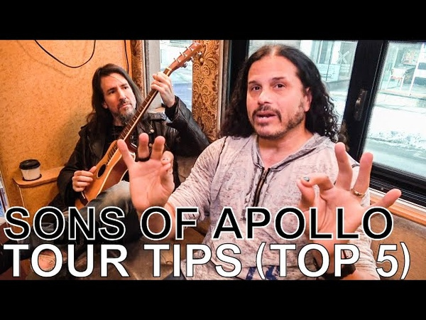 Sons of Apollo - TOUR TIPS (Top 5) Ep. 618