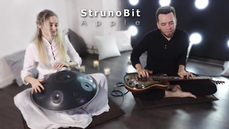 StrunoBit - Apple (Original song) Handpan Lap Guitar Trip