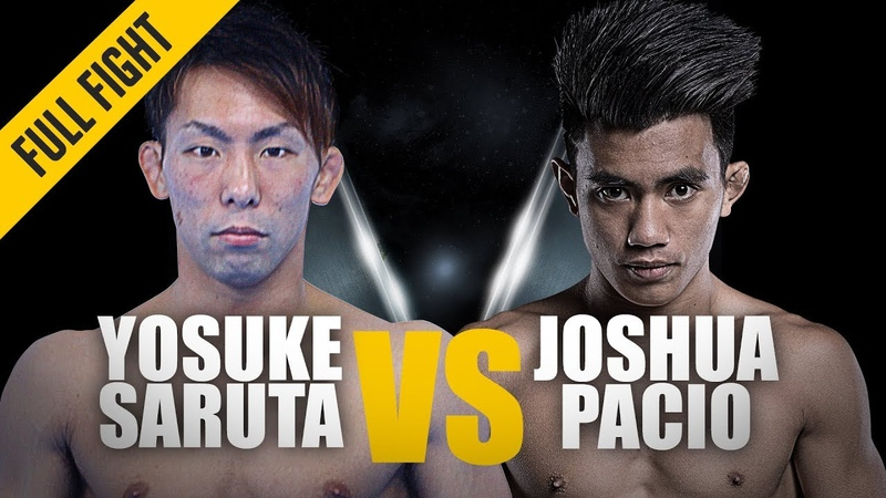 ONE: Full Fight | Yosuke Saruta vs. Joshua Pacio | Japan's New World Champion | January 2019