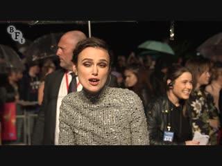 COLETTE BFI Patrons Gala  BFI London Film Festival 2018