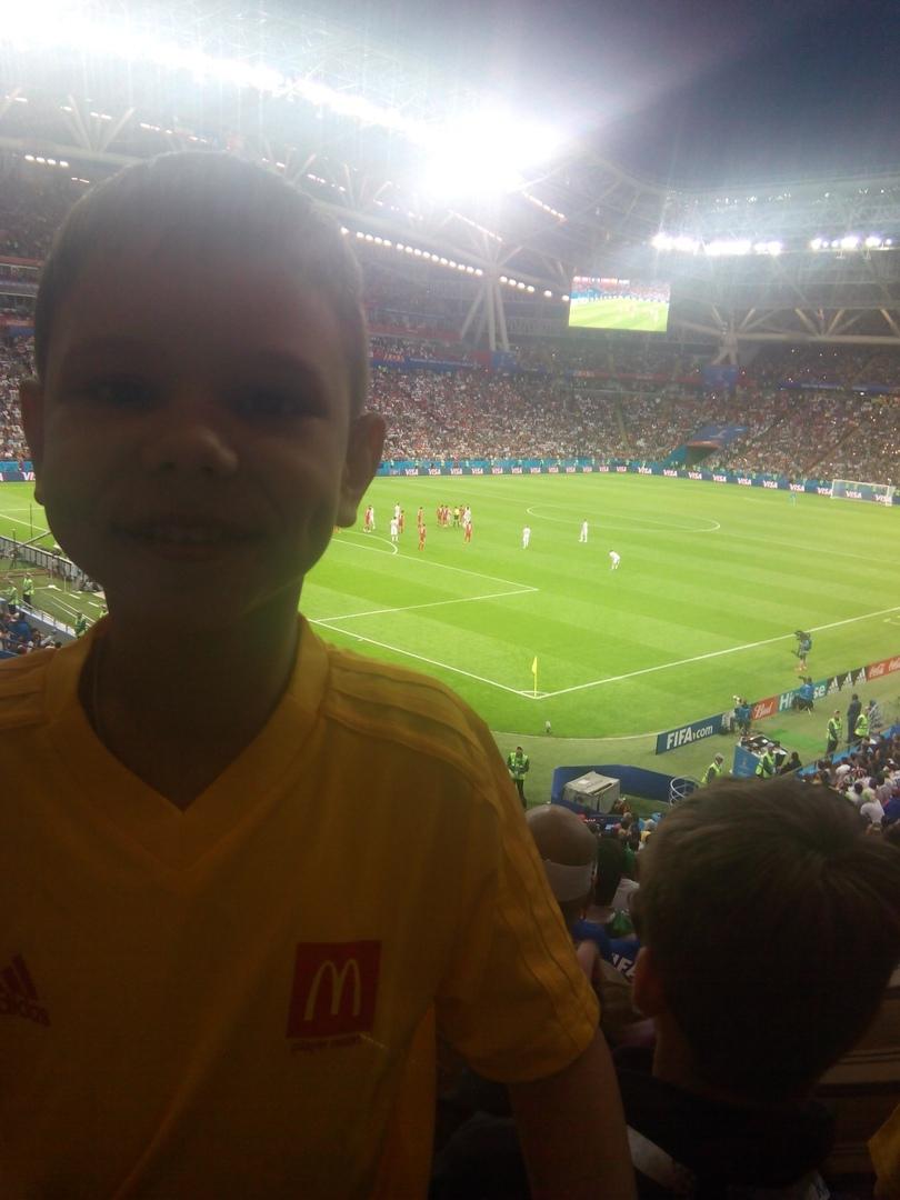 Маленький волжанин вывел на поле игрока испанской сборной Давида Сильва.
