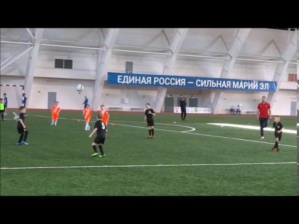 МФК Зелёный Ключ 2011 (Йошкар-Ола) - ДФК LEGION (Чебоксары). 20.04.18. 1 тайм