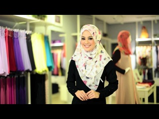 Shawl Tutorial by Al-Humaira' Contemporary #5