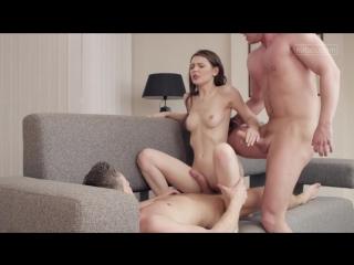 Красивый секс втроем. вдвоем одну девушку |timea bela| [porn hd, sex, blowjob]