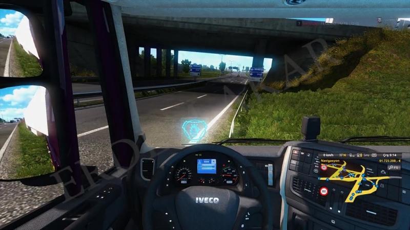 Tehlikeli Hareketler 29 🔴4K 60FPS🔴 Euro Truck Simulator 2