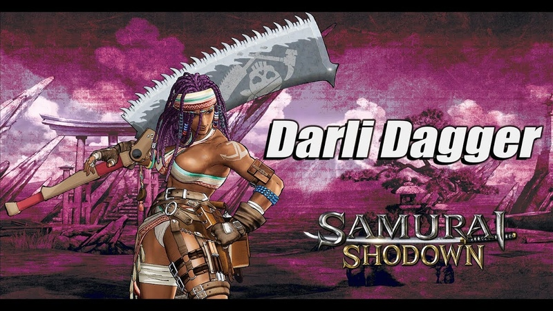 Samurai Shodown - Introducing Darli Dagger