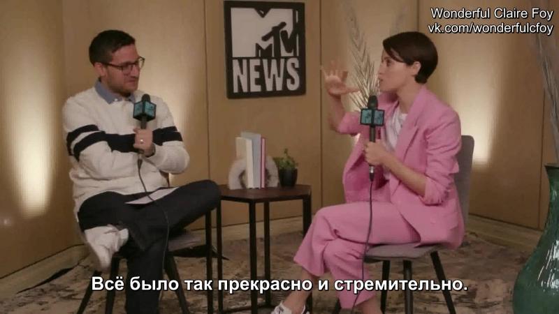 10 сентября 2018 › Русские субтитры / Интервью для «MTV» в рамках кинофестиваля «TIFF»