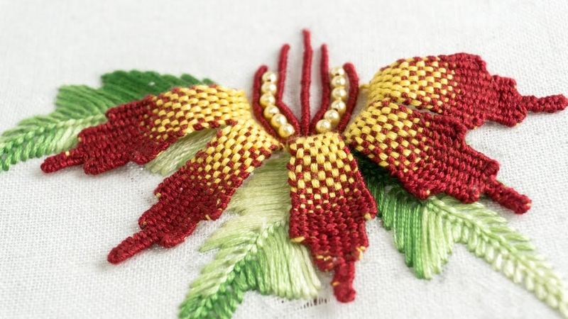 Embroidery Flower DIY: Creative Design Ideas by HandiWork