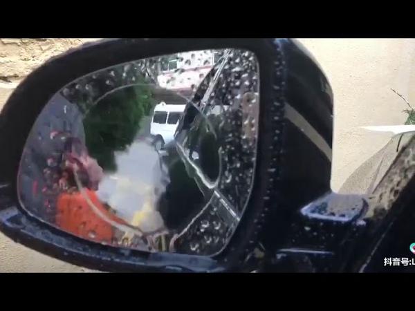 Автомобильная дождевая пленка на зеркало заднего вида Видео Алиэкспресс