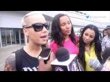 Amber Rose, Boris Kodjoe and Karue Redo arrival in Lagos,Nigeria