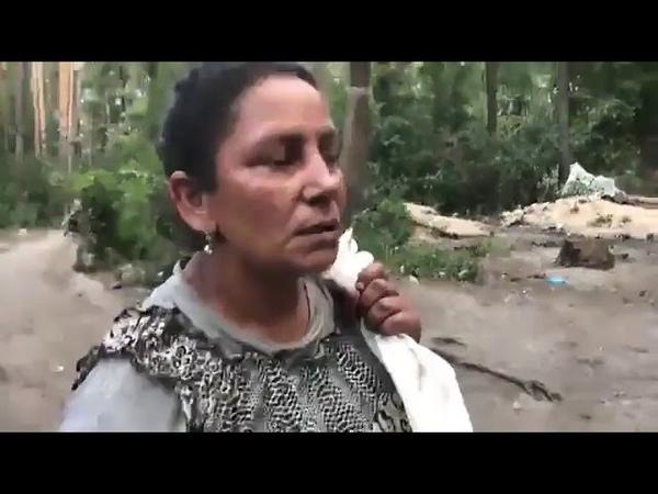 Июнь 2018 - Нацисты разбили табор цыган в Киеве
