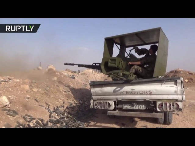 The Syrian army recovers the village of Qasr Ali in the countryside of Hama