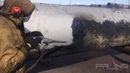 Пример работы технологии ПРАНС по очистке б у газовых труб