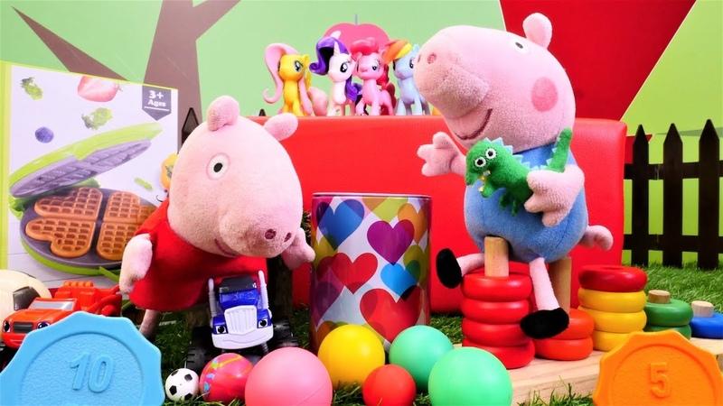 Peppa Pig auf Deutsch - Der Flohmarkt - Spielzeugvideo für Kinder