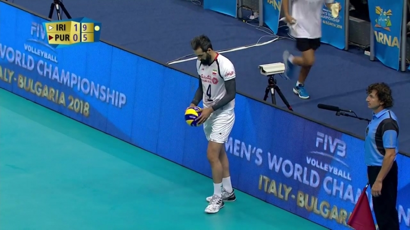 Re-live- WM der Männer- Gruppe D - Iran vs. Puerto Rico - Sportdeutschland.TV