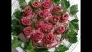 Новогодние розы Салат селёдка под шубой
