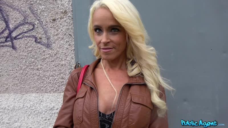 Public Agent Sophie Logan Tattooed busty German blonde MILF New Porn, Sex, Blowjob, 2019,