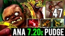ANA 7.20c Pudge 29 Kills Raid Boss Mode 47 Flesh Heap Stack