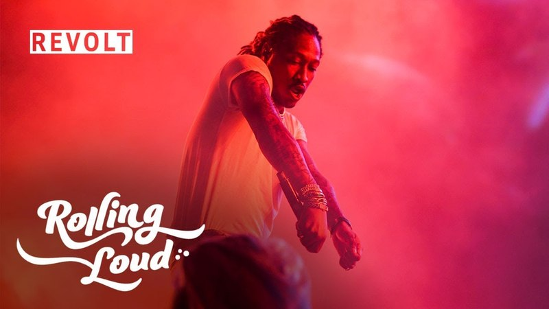 Future performs 'New Bugatti' and the crowd goes crazy | Rolling Loud