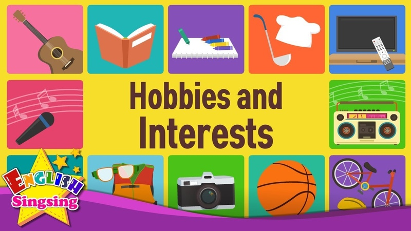 Kids vocabulary Hobbies and Interests What do you like doing Learn English for kids