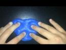 Original slime с блестками и кинетическим песком