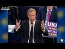 Brexit Nigel Farage infiamma il Parlamento europeo