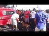 Carlinhos Brown interrompe desfile de carnaval para dar