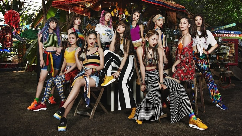 E-girls - My Way feat. FIRE BALL, MIGHTY CROWN PKCZ®