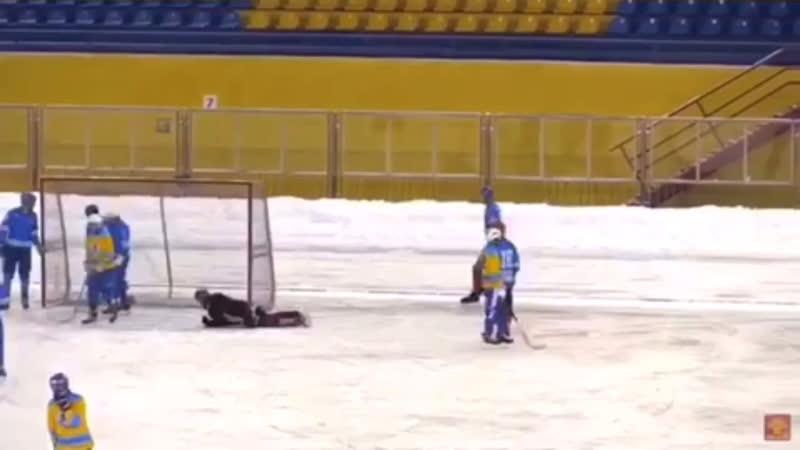 «Вымпел» - «Атом» goal Kartashov M.