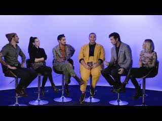The Cast of Now Apocalypse Plays Two Truths and a Lie